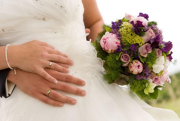 Bruidsbloemen; alles op een rij
